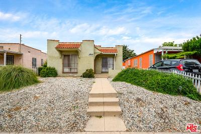 Los Angeles Single Family Home Active Under Contract: 5955 South Van Ness Avenue