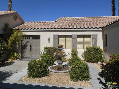 Rancho Mirage Single Family Home For Sale: 39891 Kersten Road