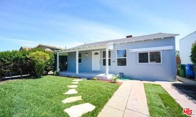 Los Angeles Single Family Home For Sale: 3522 South Bronson Avenue