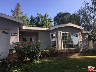 Tarzana Single Family Home Active Under Contract: 18270 Rosita Street