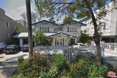 Single Family Home For Sale: 543 South Wilton Place