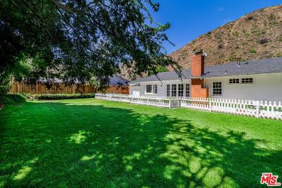 Los Angeles County Single Family Home For Sale: 5945 Paseo Canyon Drive