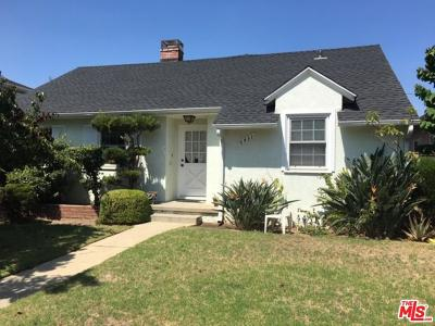 Los Angeles CA Single Family Home For Sale: $1,395,000