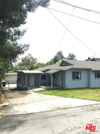 Altadena Single Family Home For Sale: 338 East Mendocino Street