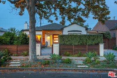 Beverlywood Vicinity (C09) Single Family Home For Sale: 1778 South Sherbourne Drive
