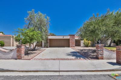 Palm Springs Single Family Home For Sale: 3354 East Chia Road