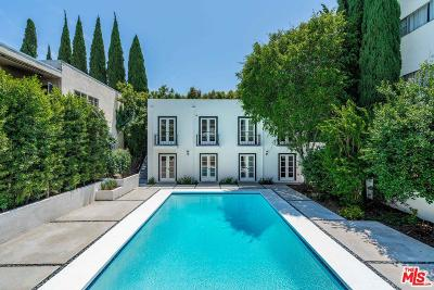 West Hollywood CA Single Family Home For Sale: $3,595,000
