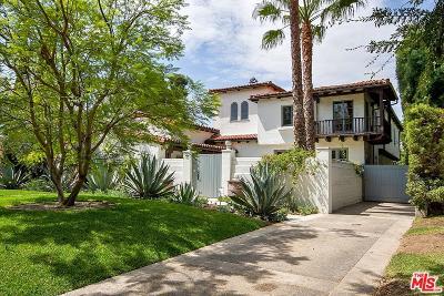 Hancock Park-Wilshire (C18) Single Family Home Sold: 449 North Las Palmas Avenue