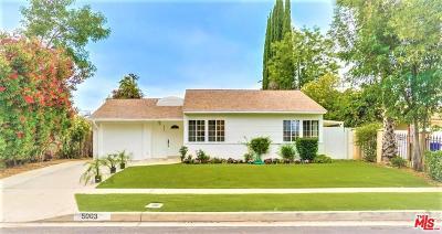 Tarzana Single Family Home For Sale: 5003 Chimineas Avenue