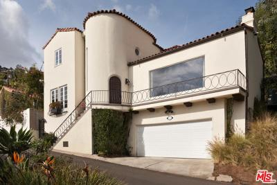 Los Angeles Single Family Home For Sale: 8287 Marmont Lane