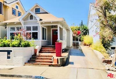 Santa Monica Single Family Home For Sale: 157 Hart Avenue