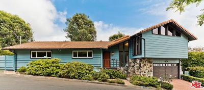 Pacific Palisades Single Family Home For Sale: 1026 El Medio Avenue