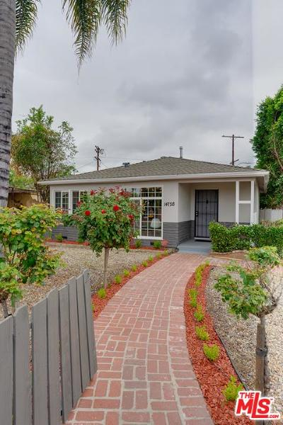 Single Family Home For Sale: 14758 Saticoy Street