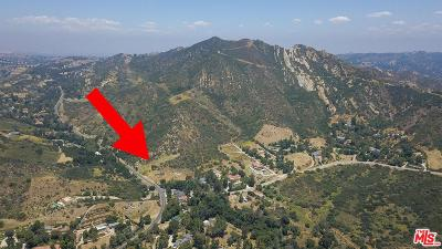 Calabasas Single Family Home Active Under Contract: 24772 Mulholland Highway