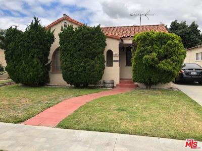 Long Beach Single Family Home Active Under Contract: 5833 Gaviota Avenue