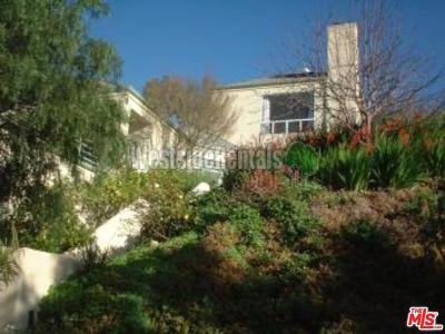 Malibu Single Family Home For Sale: 4350 Hillview Drive