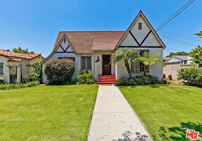 Santa Monica Single Family Home For Sale: 1020 Harvard Street