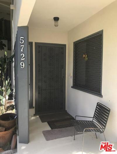 Los Angeles Condo/Townhouse For Sale: 5729 Clemson Street