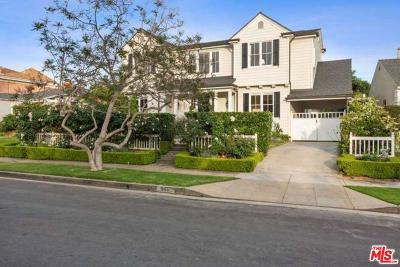 Pacific Palisades Single Family Home Active Under Contract: 542 Tahquitz Place