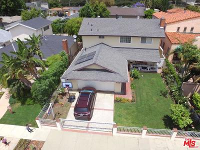 Culver City Single Family Home For Sale: 12027 Hammack Street