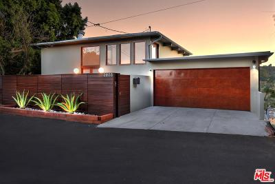Studio City Single Family Home For Sale: 3605 Alta Mesa Drive