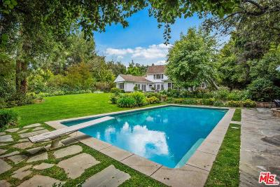 Encino Single Family Home For Sale: 4161 High Valley Road