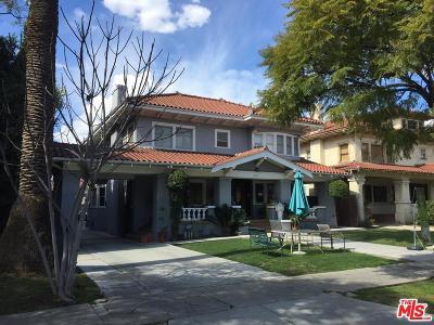 Hancock Park-Wilshire (C18) Single Family Home For Sale: 221 South Manhattan Place