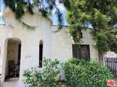 Santa Monica Single Family Home For Sale: 2134 Stewart Street