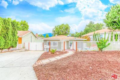 La Crescenta Single Family Home For Sale: 3624 Fairesta Street