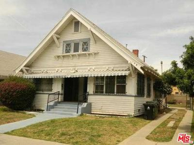Los Angeles Single Family Home For Sale: 211 West 43rd Street