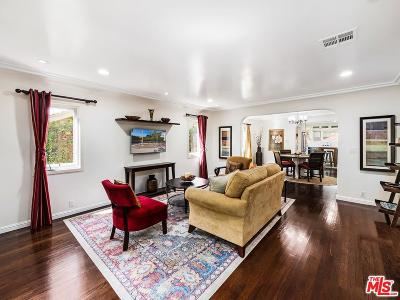 West Hollywood Single Family Home For Sale: 617 Huntley Drive