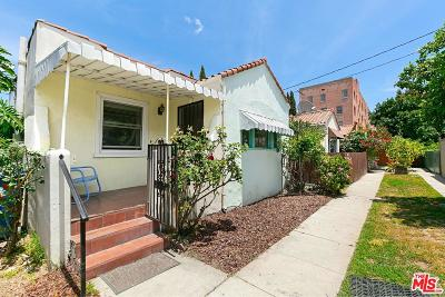 Los Angeles Single Family Home For Sale: 1236 North Cahuenga Boulevard