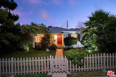 Santa Monica Single Family Home For Sale: 1048 25th Street