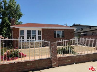 Los Angeles County Single Family Home For Sale: 2143 Fargo Street