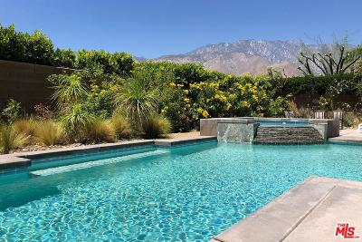 Palm Springs Single Family Home Active Under Contract: 1659 Enclave Way