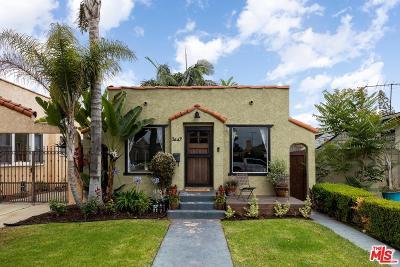 Long Beach Single Family Home For Sale: 3649 Walnut Avenue