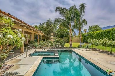 Palm Springs Single Family Home For Sale: 1820 East Racquet Club Road