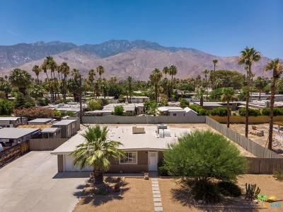 Palm Springs Single Family Home Active Under Contract: 655 South El Cielo Road