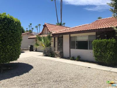 Palm Springs Single Family Home For Sale: 2966 East Vera Cruz Road