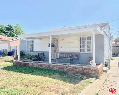 Compton Single Family Home Active Under Contract: 14628 South Corlett Avenue