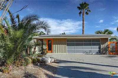Palm Springs Single Family Home Active Under Contract: 2190 North Cerritos Drive