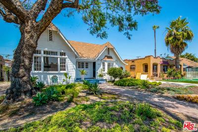Los Angeles Single Family Home Active Under Contract: 4707 6th Avenue