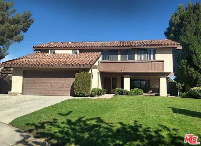 Simi Valley Single Family Home For Sale: 3330 Michelle Court