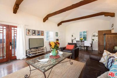 Single Family Home For Sale: 2251 North Cahuenga Boulevard