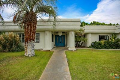 Palm Springs Single Family Home Active Under Contract: 1050 East Deepak Road