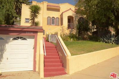 Glendale Single Family Home Active Under Contract: 1404 South Adams Street