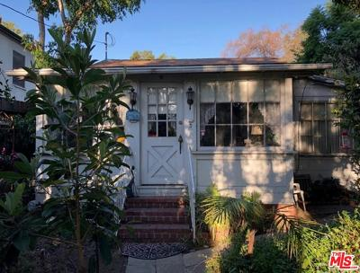 Los Angeles County Single Family Home Active Under Contract: 1717 Courtney Avenue