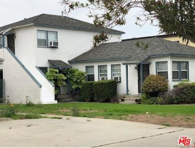 Residential Income Active Under Contract: 12616 Venice Boulevard