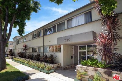 Santa Monica Condo/Townhouse Active Under Contract: 629 Idaho Avenue #7