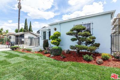 Single Family Home For Sale: 1050 South Bronson Avenue